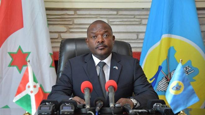 """Le gouvernement du Burundi vient d'annoncer """"le décès inopiné"""" du président Pierre Nkurunziza (photo d'illustration)"""