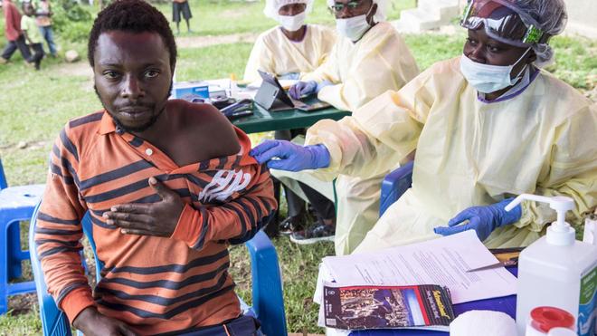 Une campagne de vaccination contre Ebola a débuté en RDC (photo d'illustration)