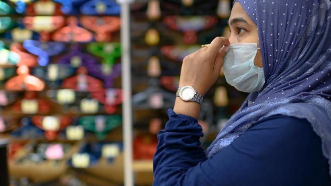 En Algérie, le plafonnement du prix des masques de protection semble compliqué (photo d'illustration)