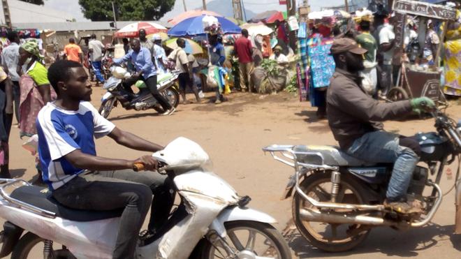 Le 10 mai dernier, au marché de Melen, très peu de Yaoundais portaient un masque de protection