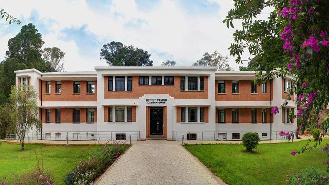 Bâtiment Girard de l'Institut Pasteur de Madagascar hébergeant cinq unités de recherche (photo d'illustration)