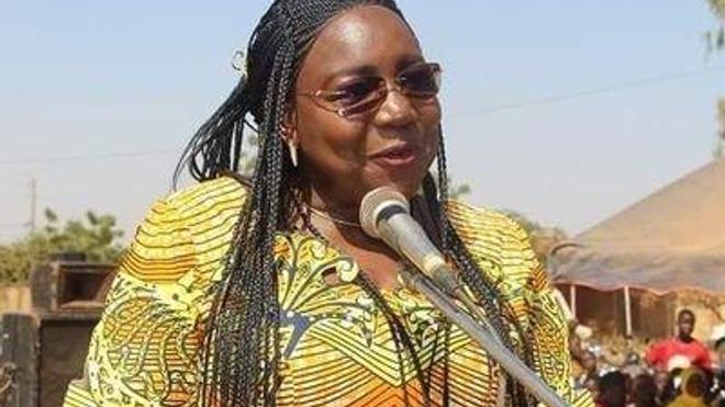 La ministre de la Santé  du Burkina Faso, la professeure Claudine Lougué