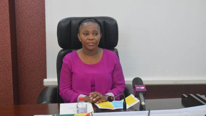 La ministre de la santé du Congo RC, Jacqueline Lydia Mikolo