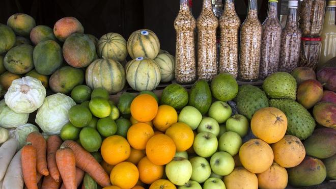 Au Sénégal, tous les marchés ont été approvisionnés en denrées (Illustration)
