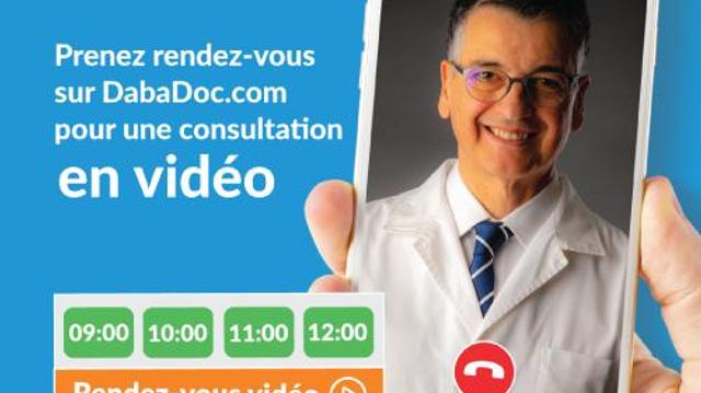 Face à la pandémie de coronavirus au Maroc, Dabadoc fait des consultations en ligne