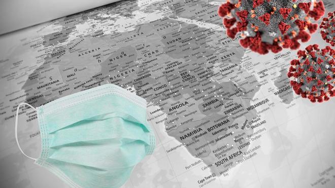 La pandémie de coronavirus se propage en Afrique (Illustration)