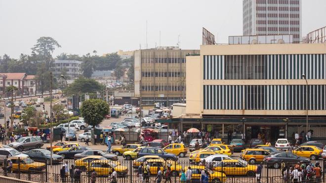 A Yaoundé, le confinement n'est toujours pas à l'ordre du jour (Photo prise avant la pandémie de Covid-19)