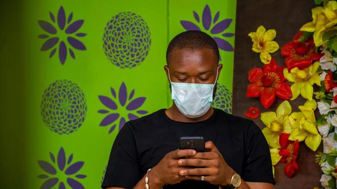 Face à la propagation du coronavirus, beaucoup d'Africains portent des masques de protection (Illustration)