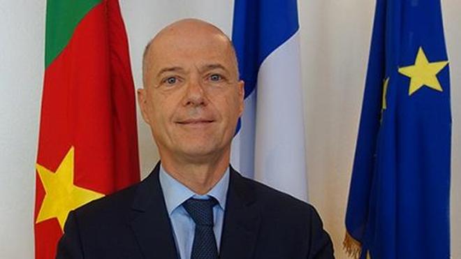 Christophe Guilhou, l'ambassadeur de France au Cameroun