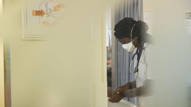 Des agents de santé ont été formés à faire face à une éventuelle épidémie du coronavirus Covid-19 (Illustration)