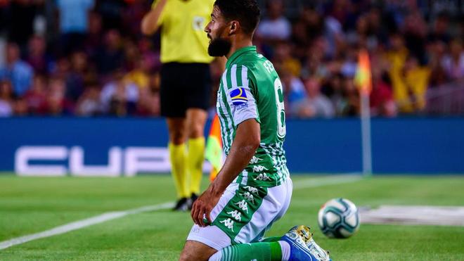 Nabil Fekir, une carrière entravée par une rupture des ligaments croisés (photo d'illustration)