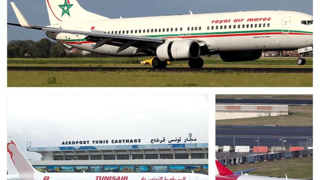 Au Maghreb, les compagnies aériennes suspendent leurs liaisons avec l'Italie (Illustration)