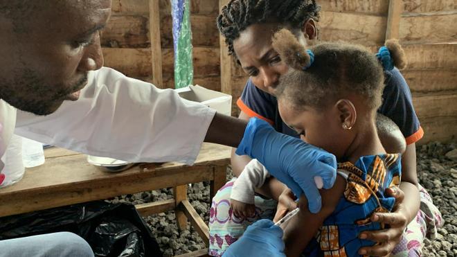 Le Cameroun s'apprête à lancer une nouvelle campagne de vaccination contre la rougeole (photo d'illustration)