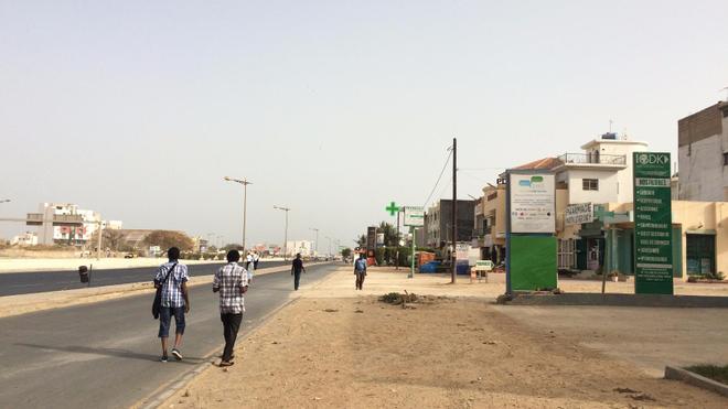 Au Sénégal, le premier cas confirmé de coronavirus a été identifié à Dakar (Illustration)