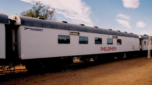 Afrique du Sud : un train au chevet des malades