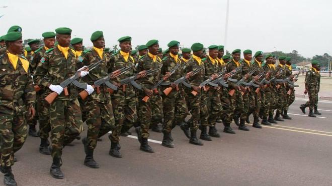 Plusieurs stagiaires militaires de la RDC sont bloqués en Chine (Illustration)
