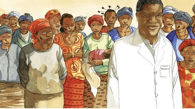 Une BD dénonce les atrocités rencontrées par le Dr Mukwege pour soigner les femmes