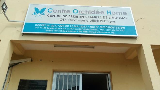 Le Centre Orchidée Home accueille les enfants souffrant d'autisme (Crédit photo Arnaud Ntchapda)