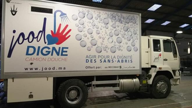 Le premier camion-douche marocain sera opérationnel dès le mois de décembre