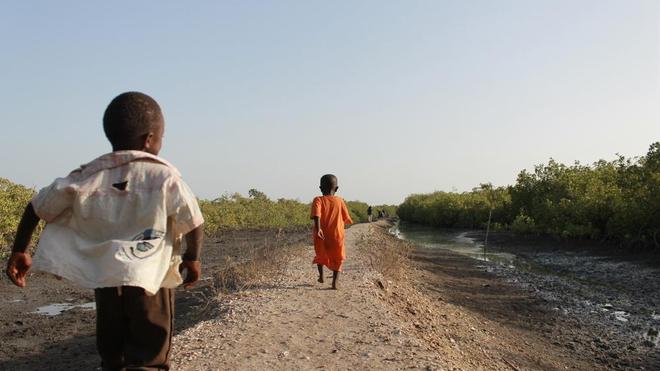 Beaucoup d'enfants vivent longtemps et en meilleur santé au Sénégal
