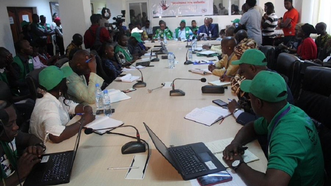 Information et sensibilisation des journalistes guinéens sur la rougeole