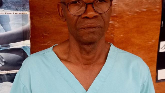 Dr Mamadi Dramé, le DG de l'ONG SOS Drépano-Guinée