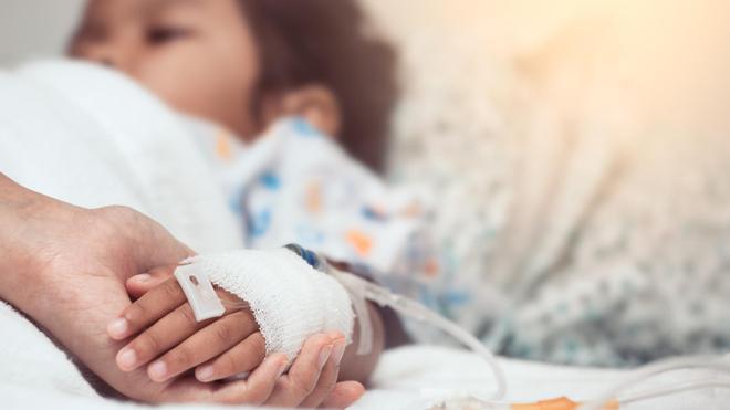 La pneumonie infantile est responsable du décès de milliers d'enfants (Illustration)