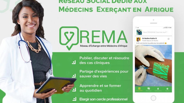 REMA, une application d'entraide entre médecins africains