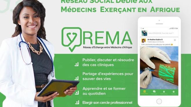 L'application Rema est très facile à utiliser (Illustration)