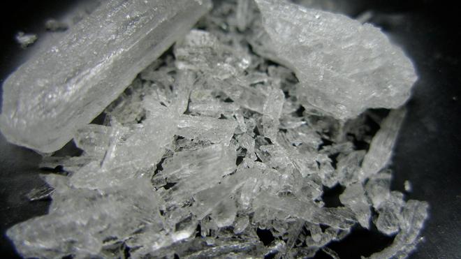 La métamphétamine peut être vendue sous format de cristaux