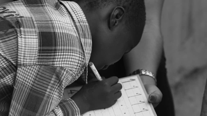 Un enfant autiste au Cameroun (Illustration)