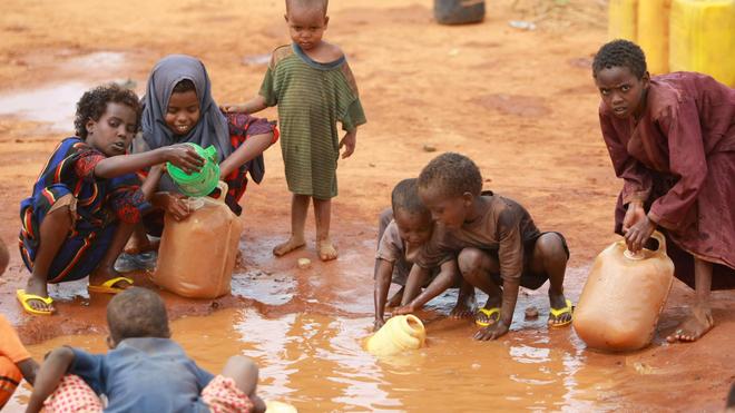 En Centrafrique, plus de la moitié des enfants de moins de cinq ans sont trop petits par rapport à leur âge (Illustration)