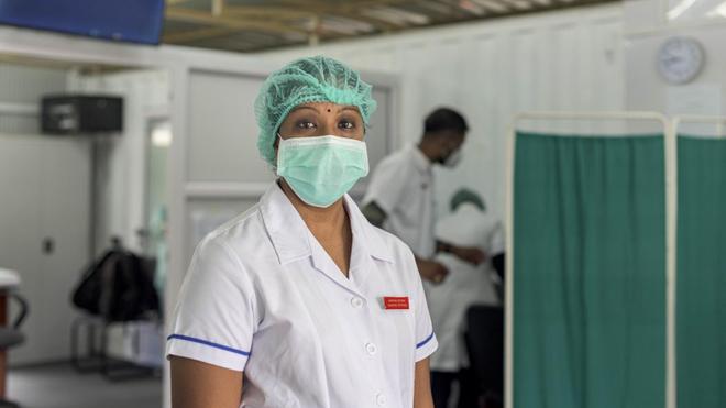 Le risque d'une forte hausse des cas de COVID-19 menace les structures sanitaires en Afrique (photo d'illustration)