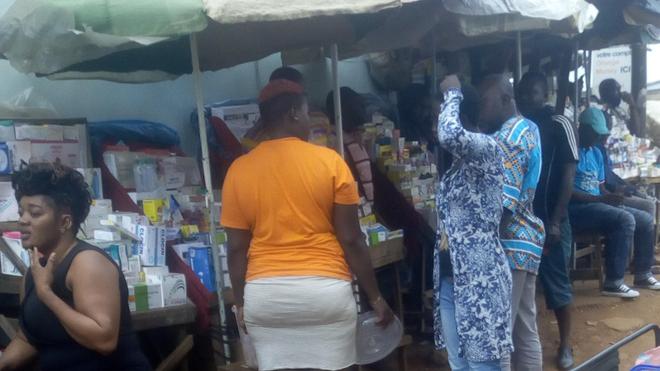 Les faux médicaments gagnent les rues de Yaoundé (photo d'illustration)