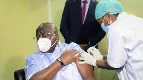 Le président congolais Tshisekedi enfin vacciné contre le Covid-19