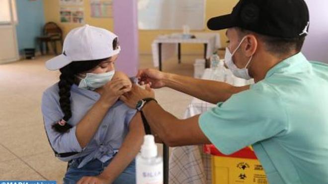 La vaccination des adolescents s'accélère au Maroc