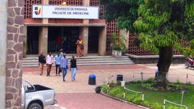 La faculté de médecine de Kinshasa