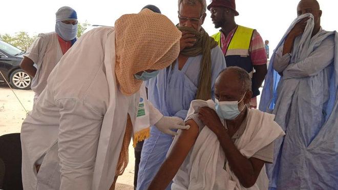La Mauritanie fait partie des pays africains ayant vacciné au moins 10% de leur population