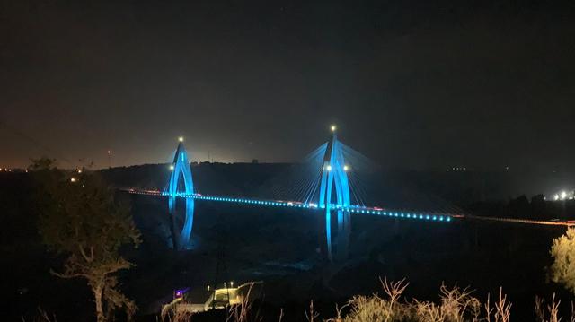 Faim dans le monde: Rabat s'illumine en bleu pour sensibiliser ses habitants