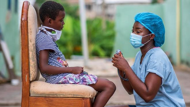 En Afrique, de nombreux enfants ne sont pas vaccinés (photo d'illustration)