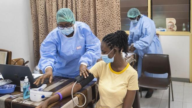 De nombreux Africains renoncent aux soins par peur de contracter le Covid-19 (photo d'illustration)