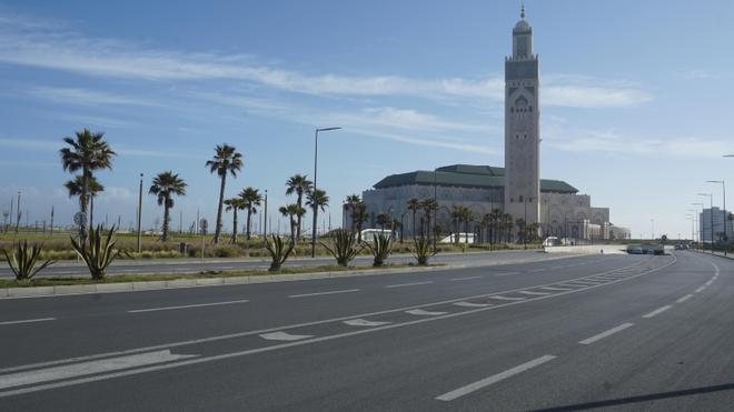 A Casablanca, la mosquée de Hassan II n'est toujours pas accessible (photo d'illustration)