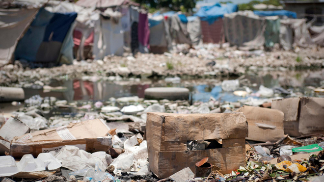 Le choléra est une maladie liée à l'eau sale (photo d'illustration)