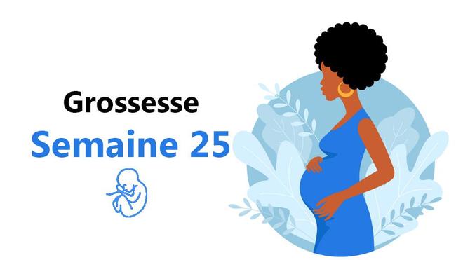 En cette vingt-cinquième semaine, ton bébé devient plus lourd (photo d'illustration)