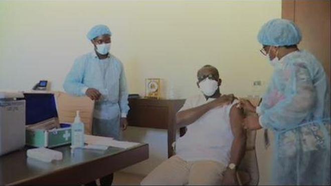 78 centres sont prêts à vacciner la population contre le coronavirus (Crédit photo Léonard Kabo)