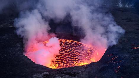 A Goma, le volcan Nyiragongo menace la santé des habitants