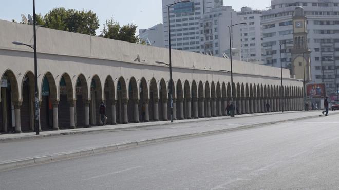 Les principales artères de Casablanca sont dépeuplées en cette période de confinement (photo d'illustration)