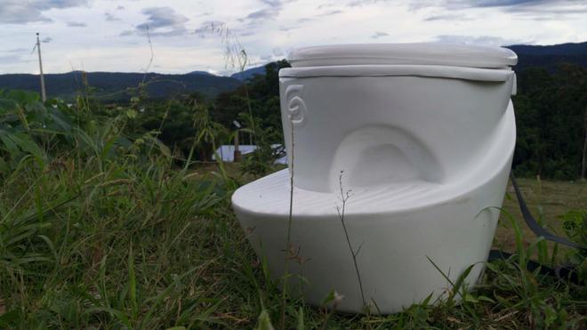 Les toilettes Sanilab
