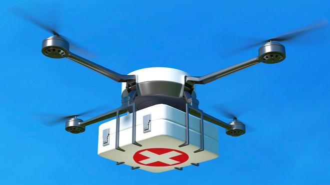 Grâce aux drones, la RDC peut livrer des médicaments dans des zones reculées (image d'illustration)