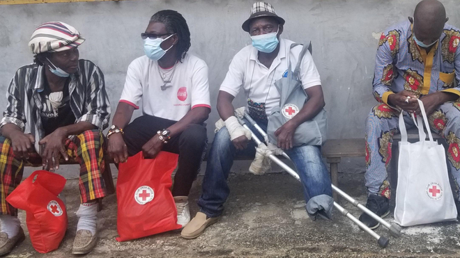 Les anciens malades de la lèpre reçoivent des dons pour subvenir à leurs besoins (photo d'illustration)